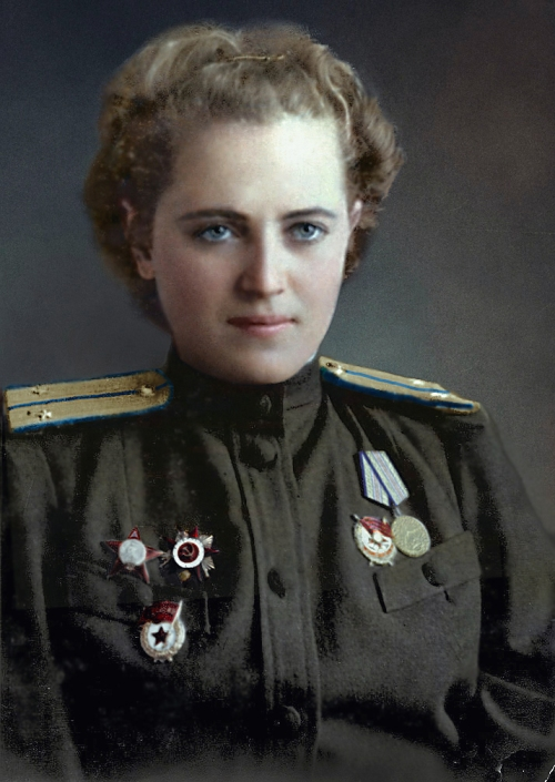 Yevgeniya Zhigulenko, Hero of the Soviet Union