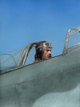 Soviet pilot, WW2
